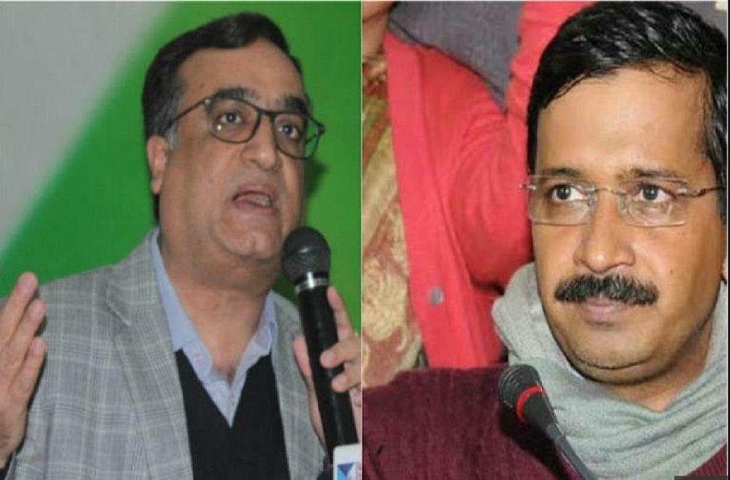 Ajay Maken claim on CM Kejriwal, Said - Tankers has meet with Mafia