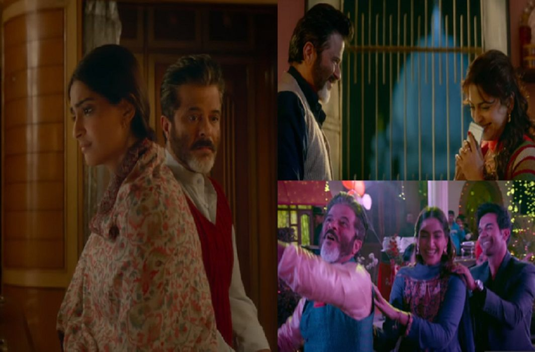 anil and Sonam's film Teaser released