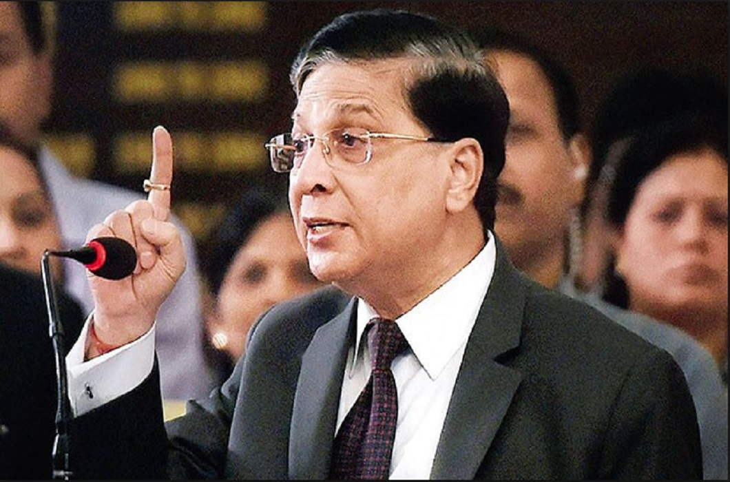 CJI arrived from the train to inaugurate the country's most hi-tech district court