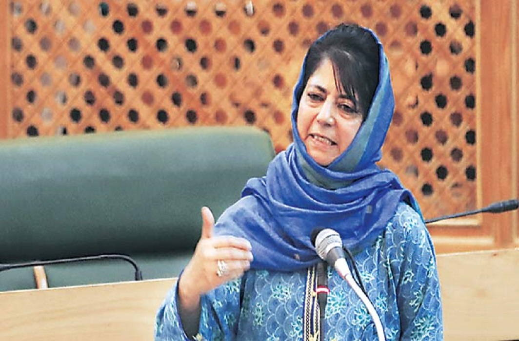 Coalition was not for power, from a broad perspective: Mehbooba