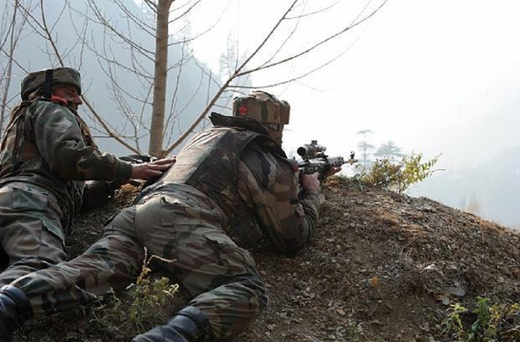 Encounter in north Kashmir, two militants killed, a young martyr