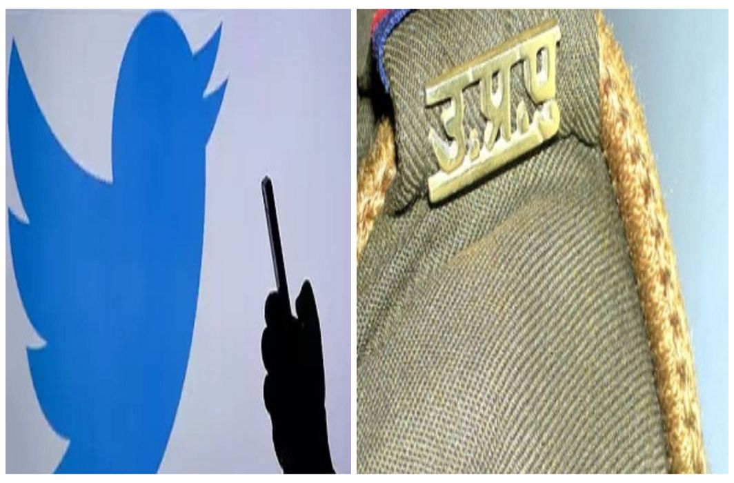 In the action of UP police after girl's tweet