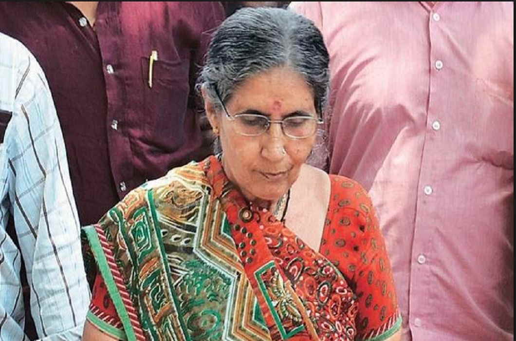Jashodaben angry with the statement of Anandiben and said-My Ram is Modi
