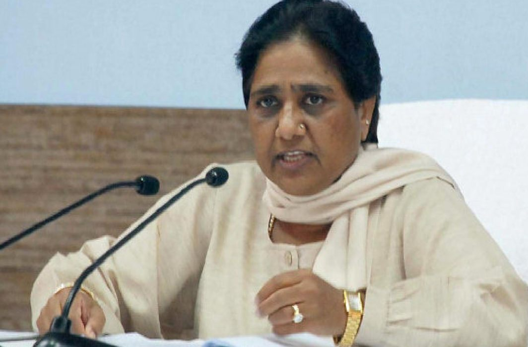 Mayawati targets Modi government, Reconsider Kashmir policy
