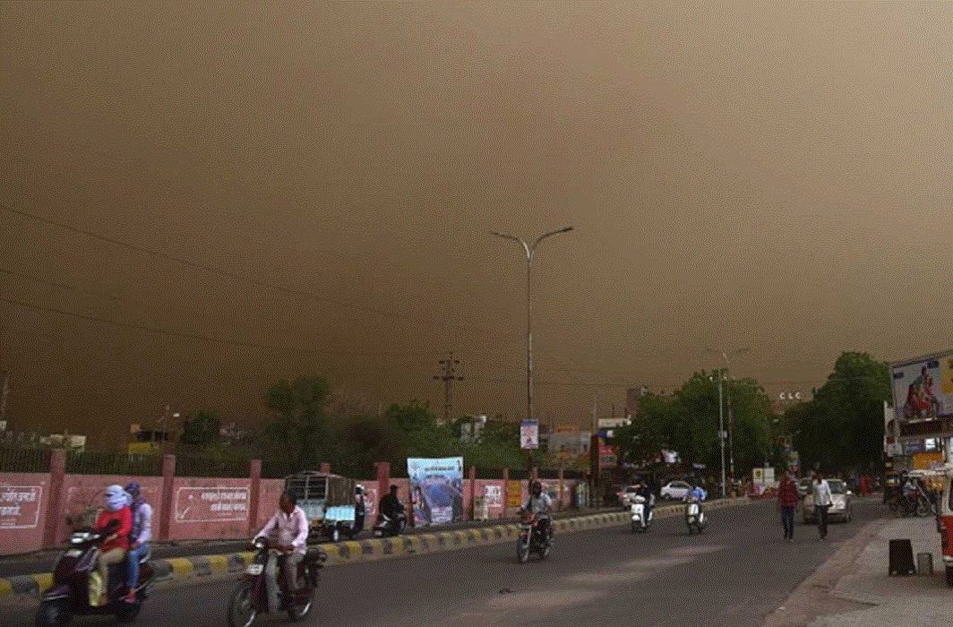 Meteorological Department warns of dust storm in Delhi-NCR