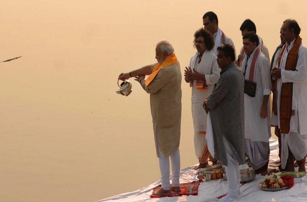 Mokshadayini polluted in prayag