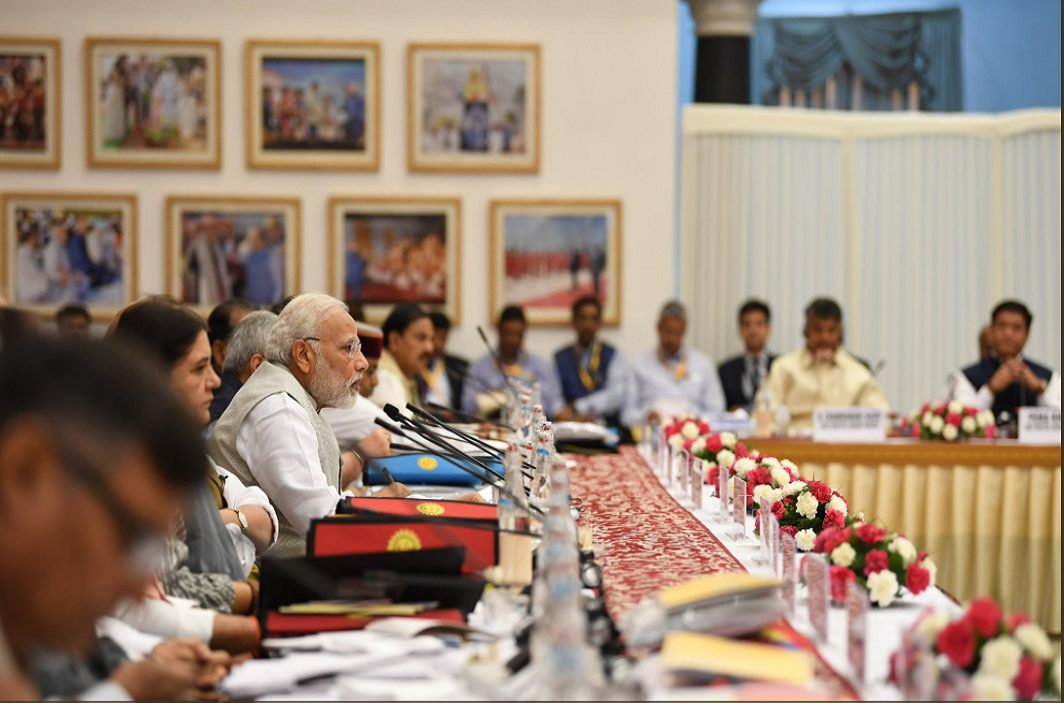 Niti Aayog meeting chaired by PM Modi