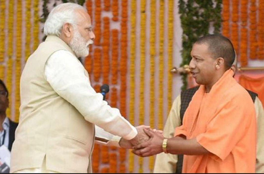 PM Modi congratulated on the birthday of CM Yogi Adityanath