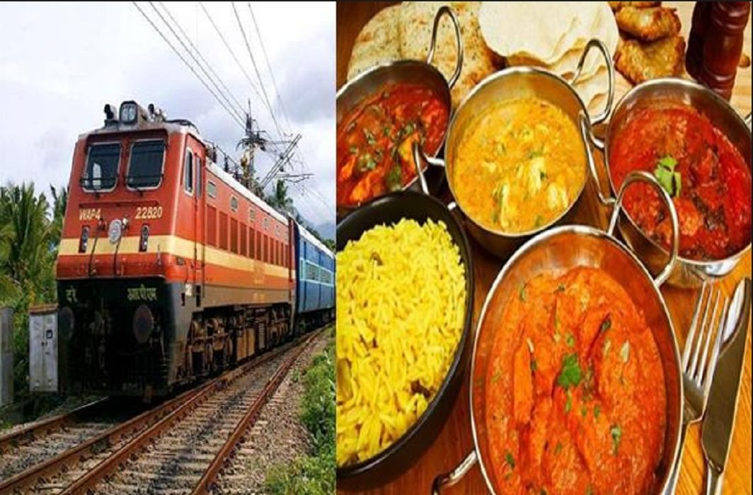Revealed in RTI- only Rs 40 rupees meal plate in the train
