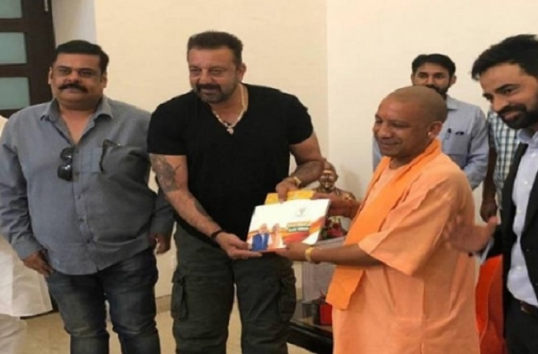 Sanjay Dutt meet to CM Yogi