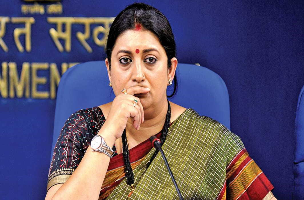 Shocking news for Smriti Irani and out from niti ayog