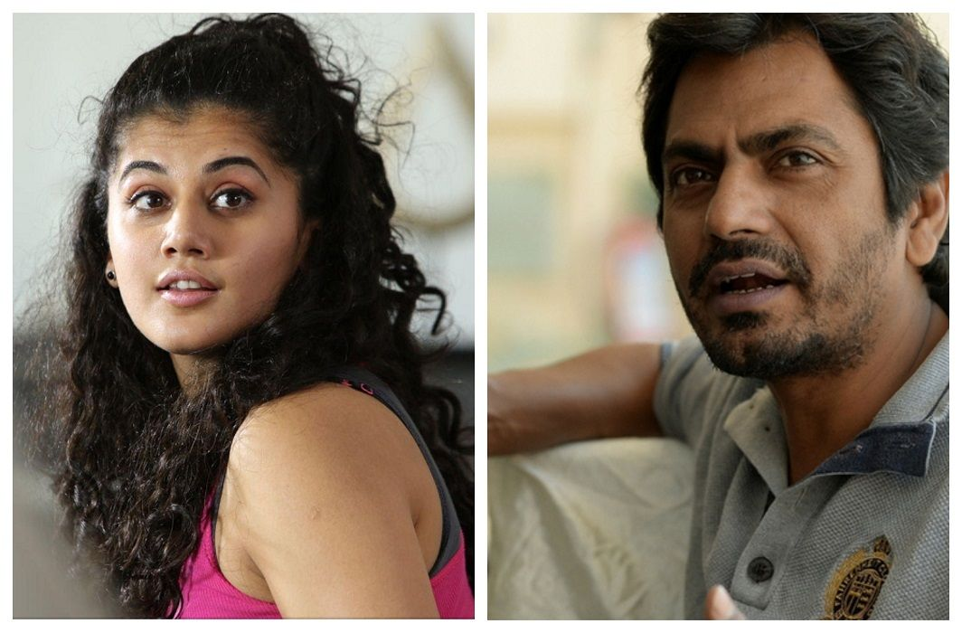 Taapsee says, no problem with filming with Nawazuddin