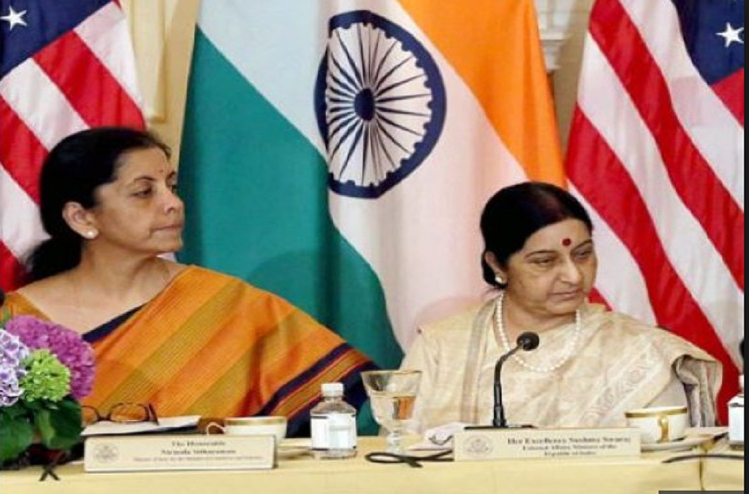 US suspends 2 + 2 talks with Sushma Swaraj and Nirmala Sitharaman