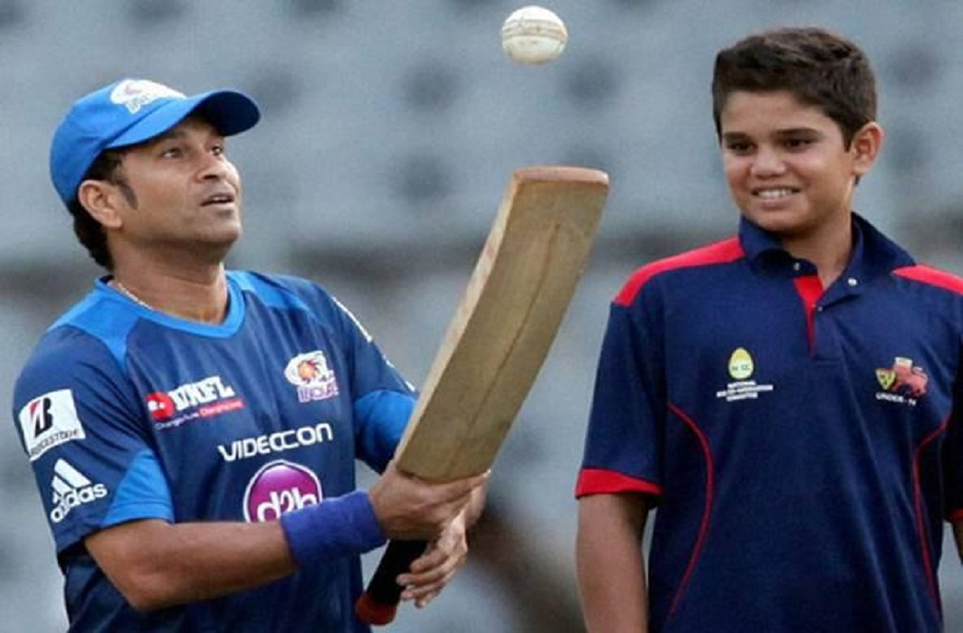 Junior Tendulkar has joined in 'India under 19 ' team, Compared to Junior Bachchan