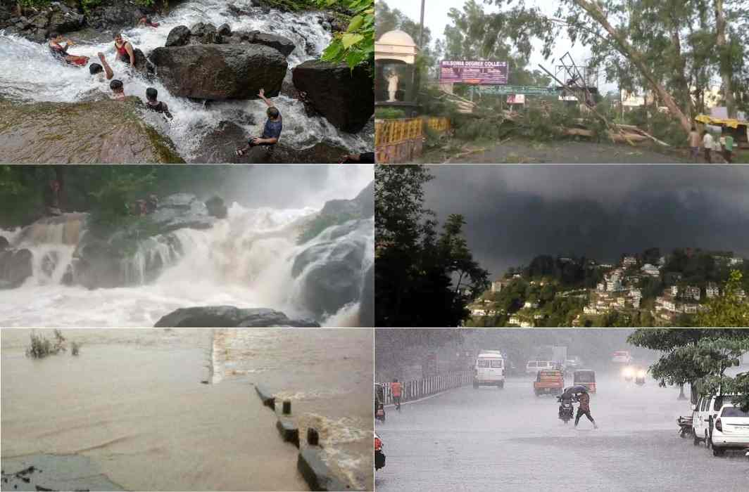 13 states, including UP, Uttarakhand, Bihar, Jammu and Kashmir, the risk of heavy rains
