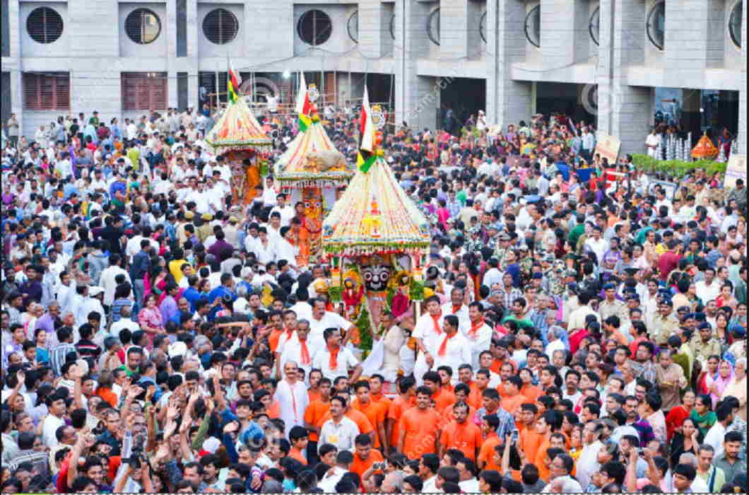 Jagannath Rath Yatra started in Ahmedabad, PM Modi tweeted Congratulations