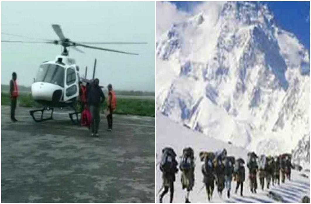 Kailash Mansarovar's Thousand Pilgrims Trapped in bad weather