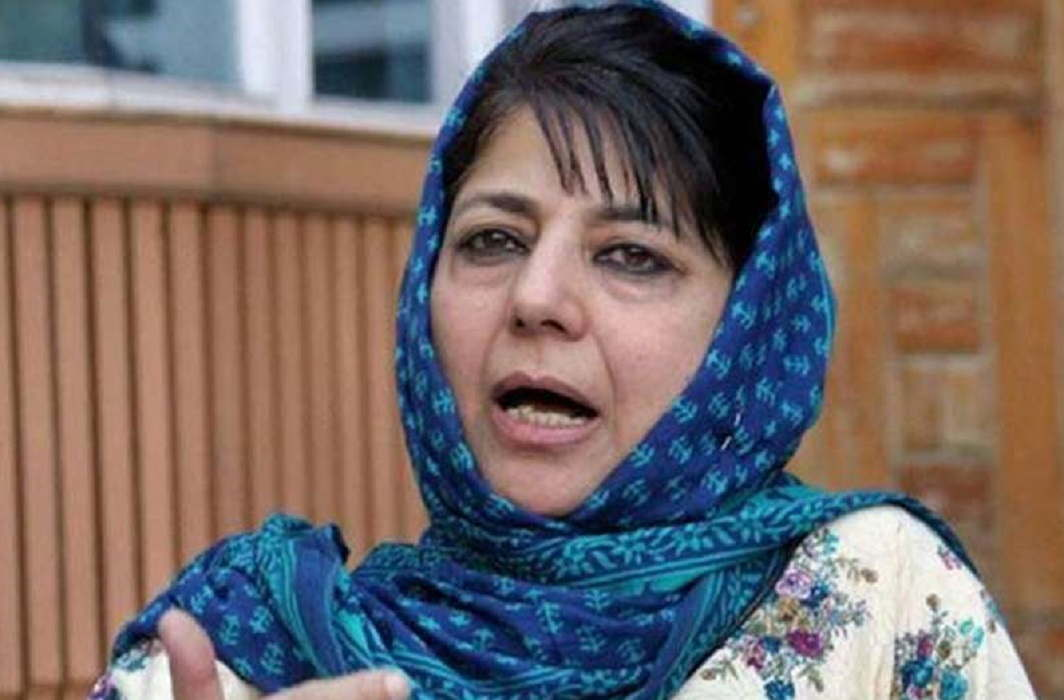 Mehbooba Mufti's anger over BJP, says- Do not tolerate trying to break PDP