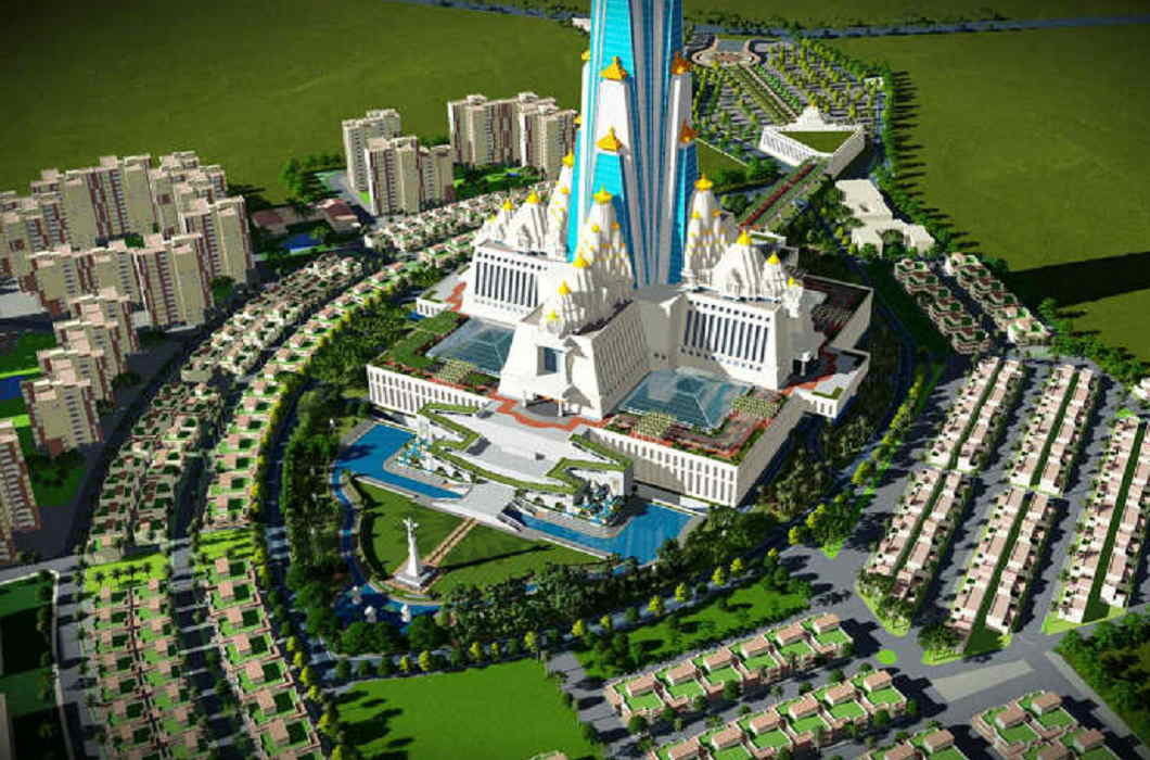 NGT issued notice to the world's tallest temple in India