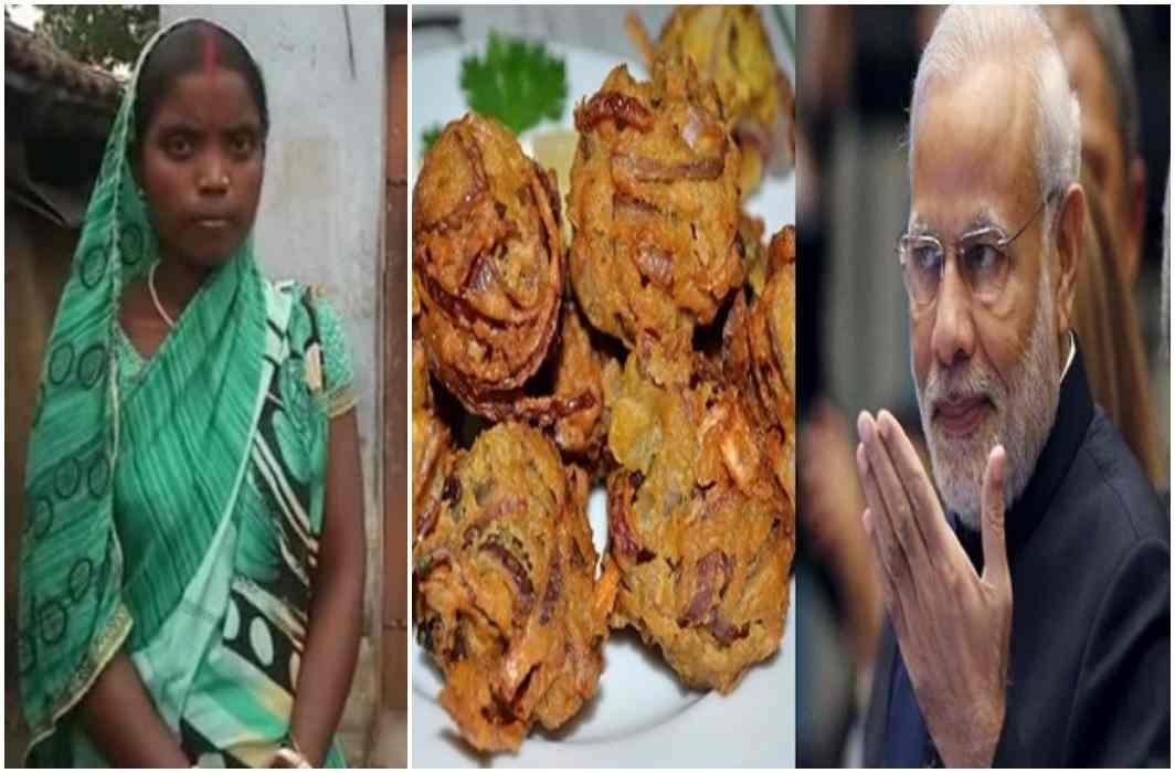 PM Modi's suggestion, Savitri Devi running her house by selling pakora