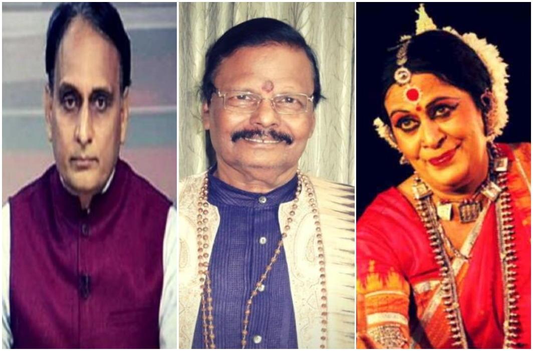 Rakesh Sinha, Raghunath Mahapatra, Sonal Mansingh Rajya Sabha Member
