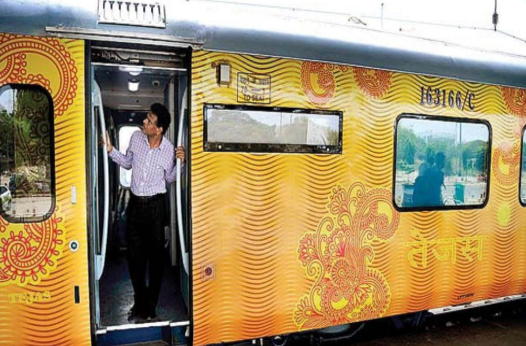 Tejas wants to go from Chandigarh to Chandigarh . So look what special this train