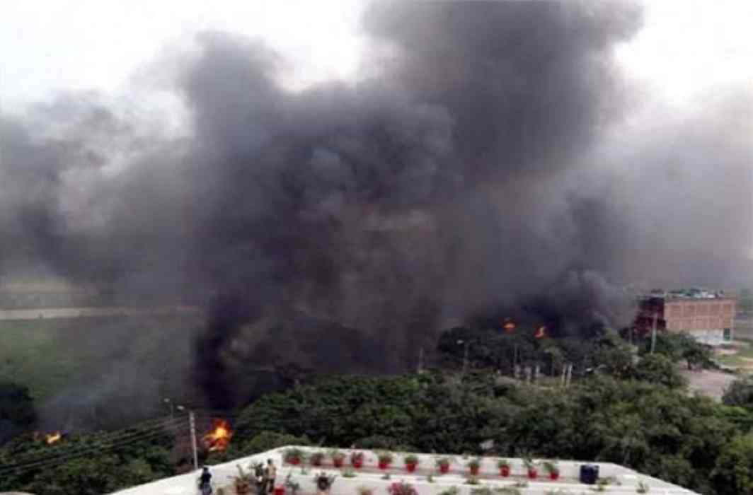 Three killed by poisonous gas in Loni's STP plant