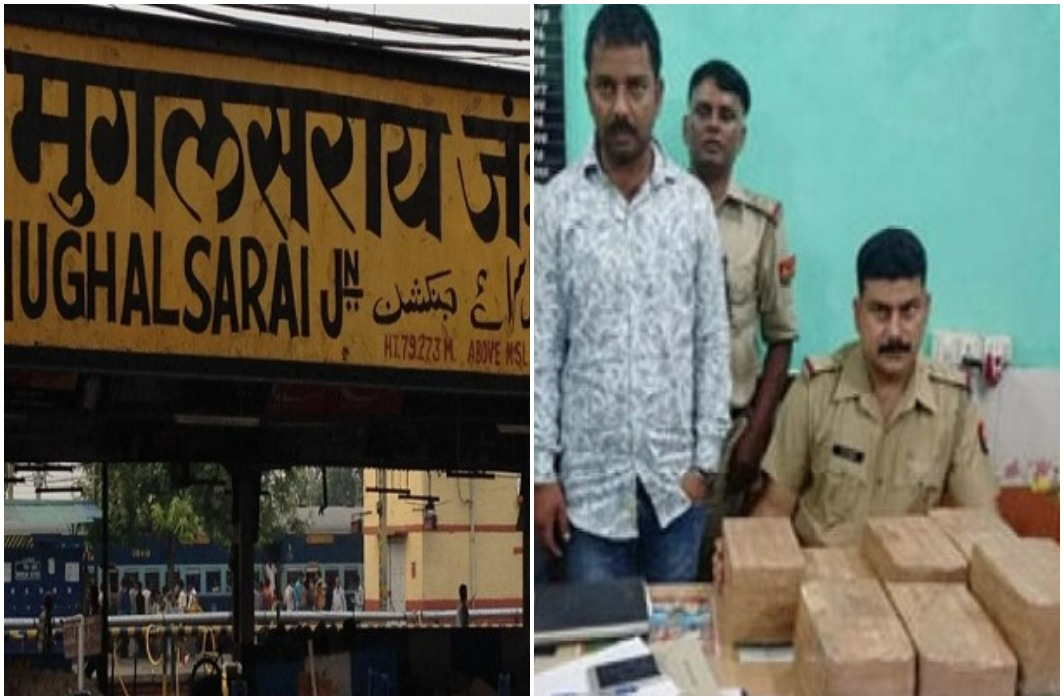 Two gangsters were arrested, with two crores in the Duronto Express
