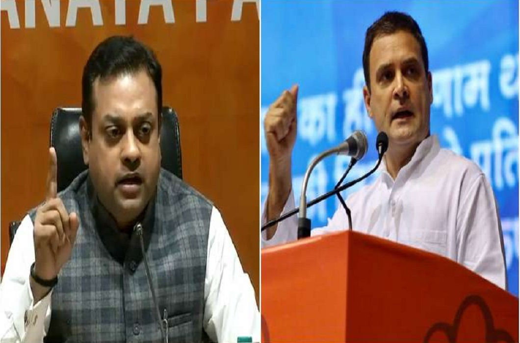 Sambit patra angry on the statement of Shashi Tharoor Said: Rahul demands apology for Pakistan support