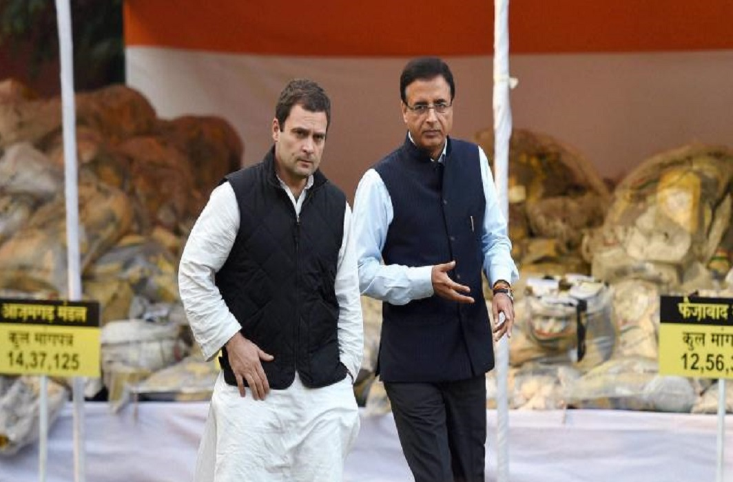 Rahul and Surjewala