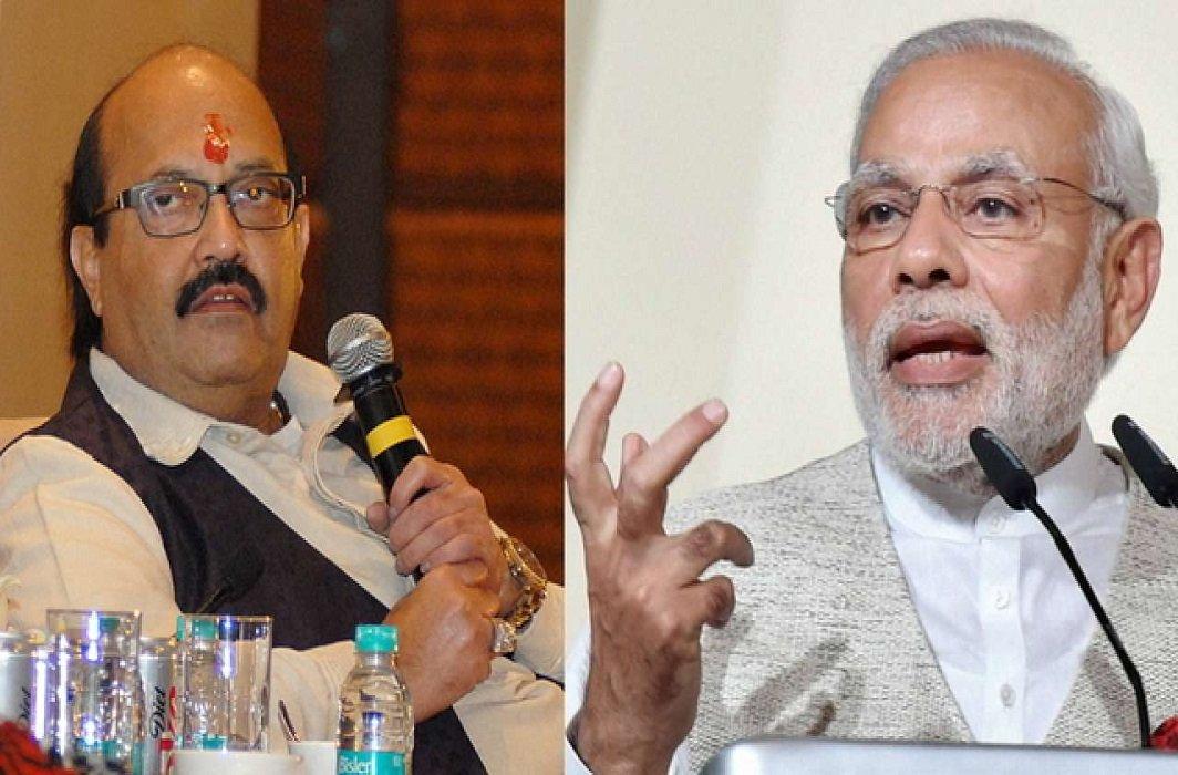 Amar Singh named Modi's name for his forthcoming life