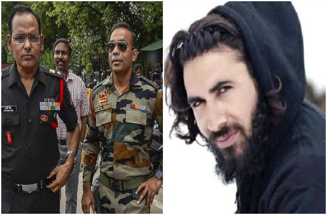 Major Aditya Kumar of Garhwal Rifles and Shaheed Aurangzeb 7 including Shaurya Chakra