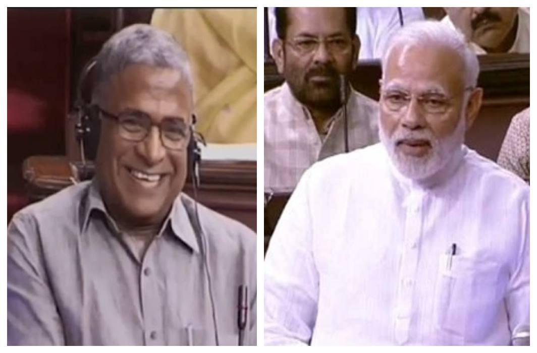 NDA candidate Harivansh Narayan Singh became Rajya Sabha vice-president