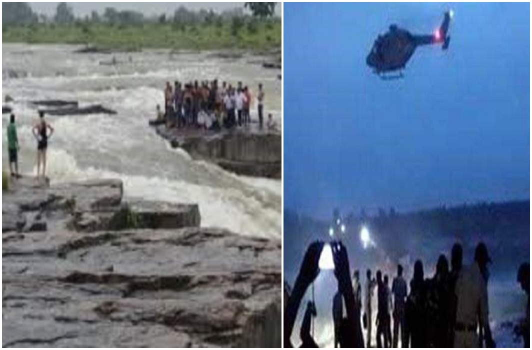 Shivpuri accident: 45 stranded people were rescued