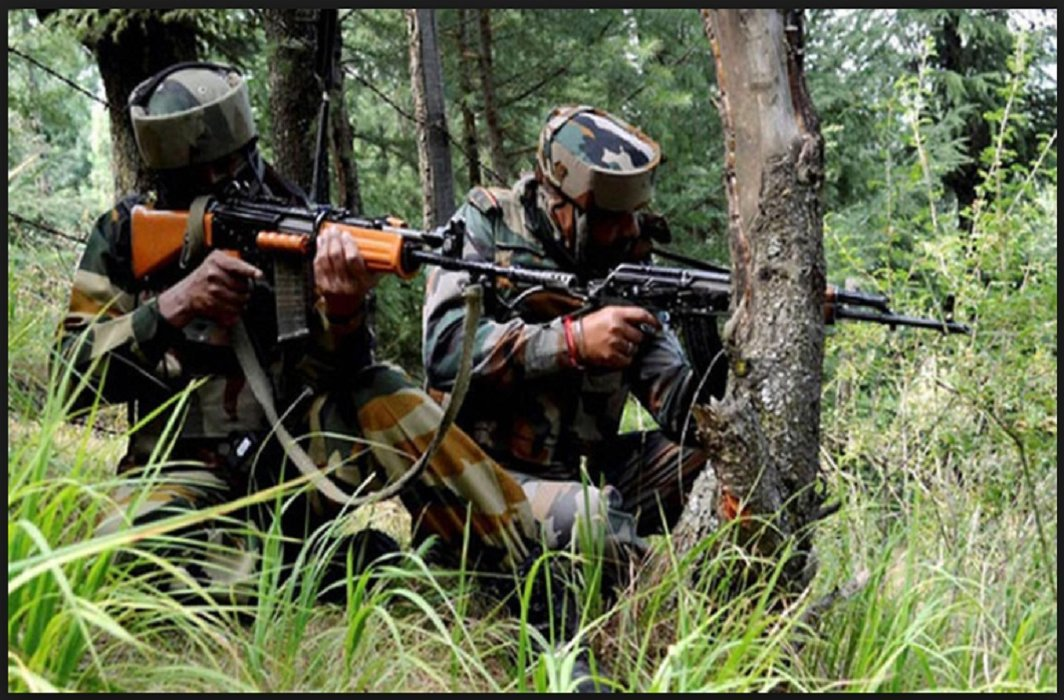 encounter between army and terrorists in Shopian, Five Terrorist Stacks