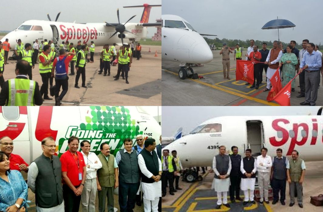 first-time runs biofuel aircraft in the country