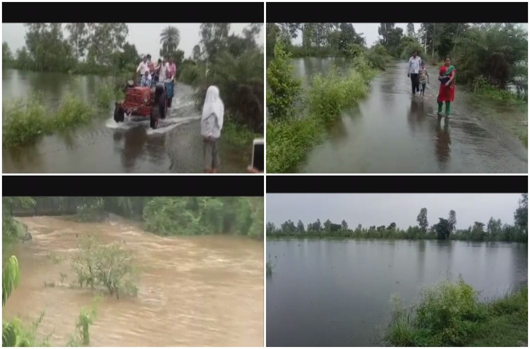 heavy Floods in Hastinapur broke contact with headquarters