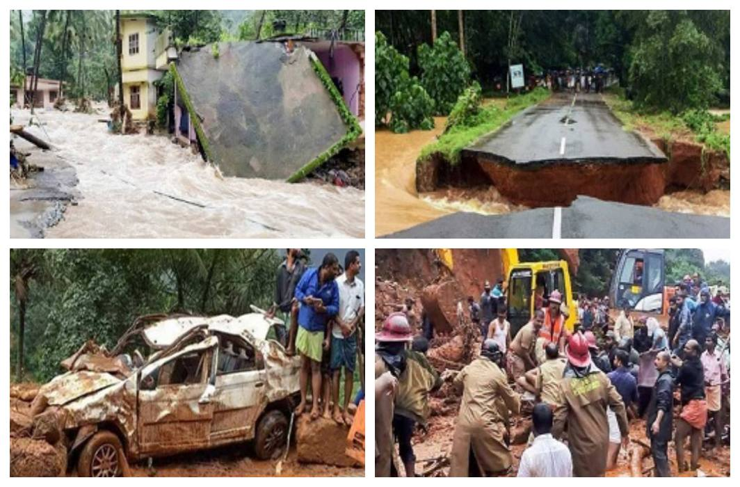 heavy rain and Landslide in Kerala, 26 people died