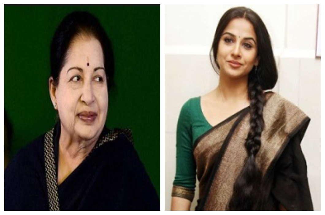 Jayalalitha's role to play Vidya Balan, may announce soon