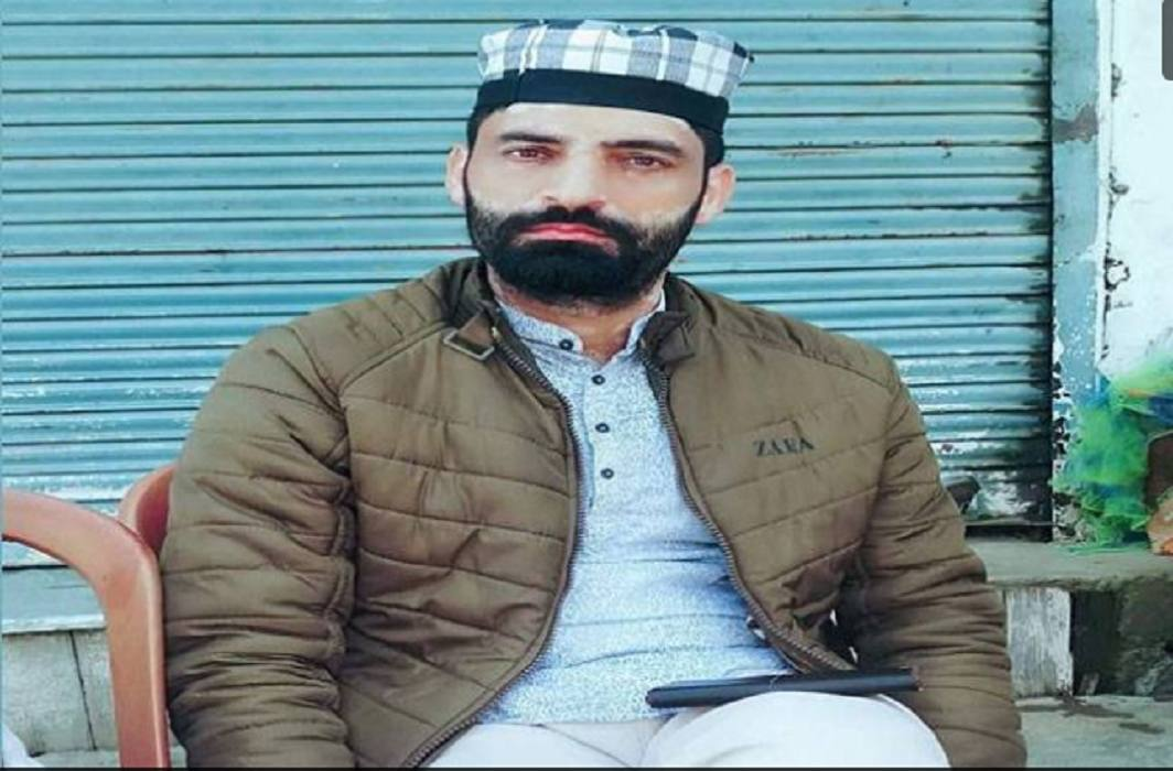terrorists have killed BJP leader Shabir Ahmed Bhat in Pulwama