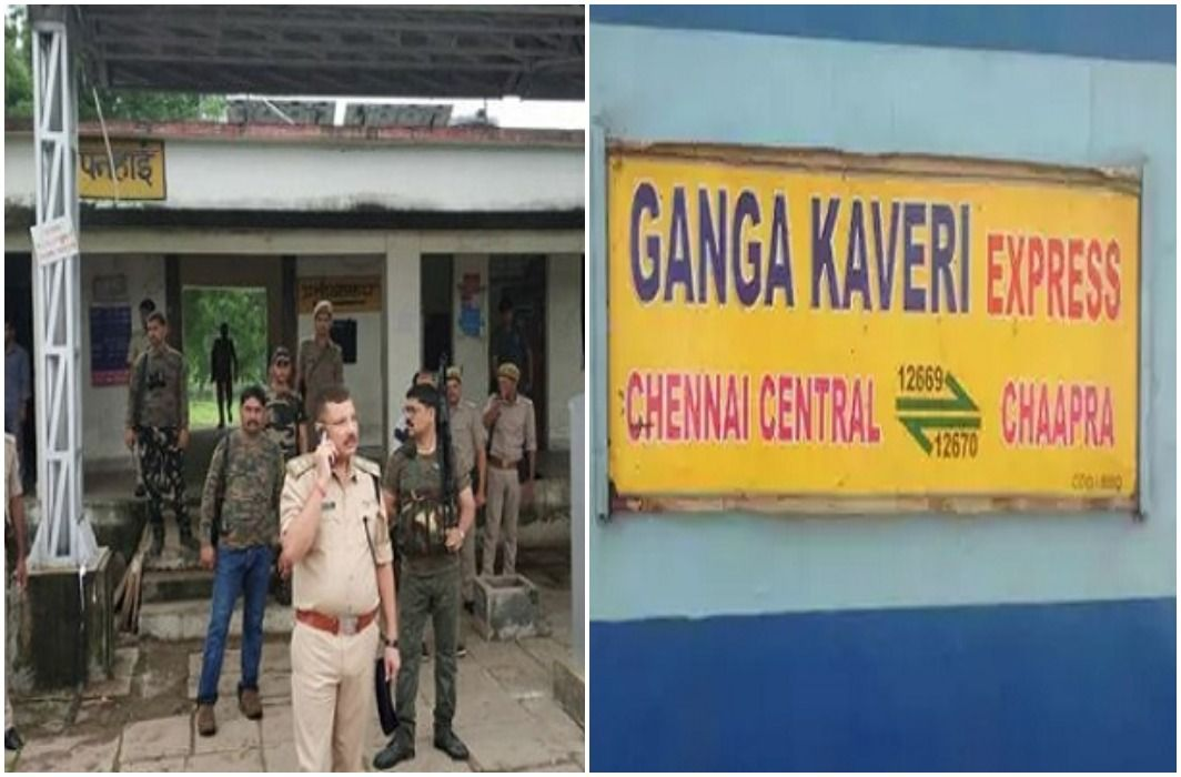 robbery in Ganga-Kaveri Express who going from Patna to Chennai