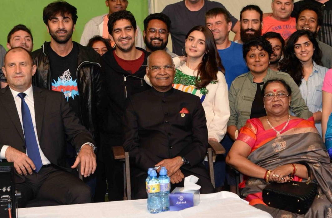 President Ramnath Kovind reached the set of Brahmastra, Meet with Ranbir and Aliya