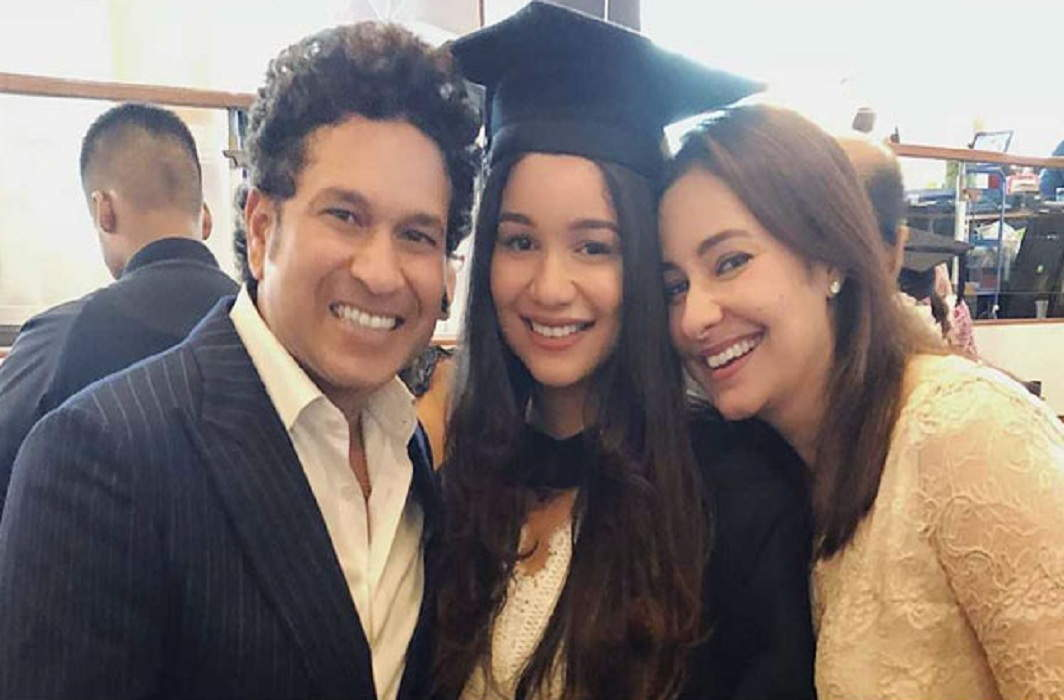 Sara completed Graduate from London University and Sachin and Anjali join ceremony