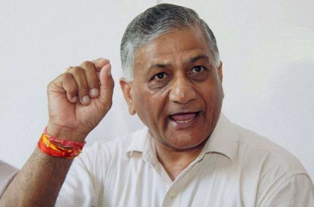 Minister of State for External Affairs VK Singh said Imran was elected by the army