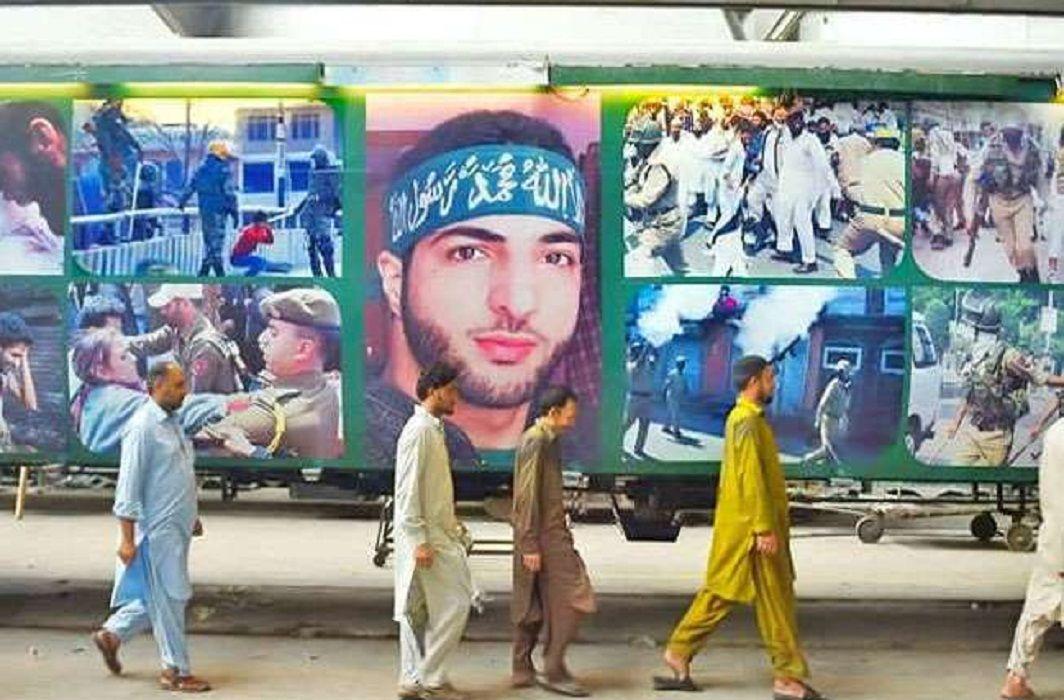 Burhan Wani terrorist