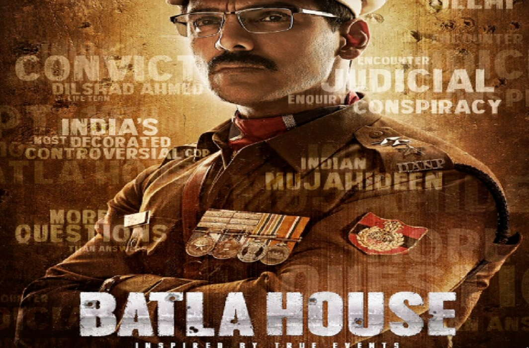 John abraham in amazing look in latest movie Batla House and poster released