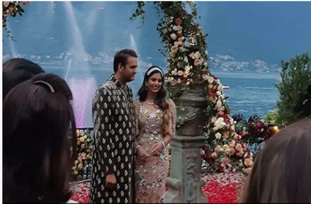 Isha Ambani's marriage to Mukesh Ambani's Anand Piramal in Italy