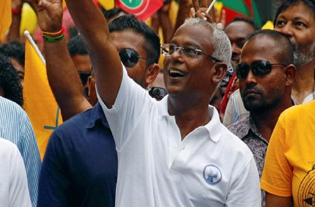 Opposition candidate Ibrahim Mohamed Solih has won presidential election of Maldives