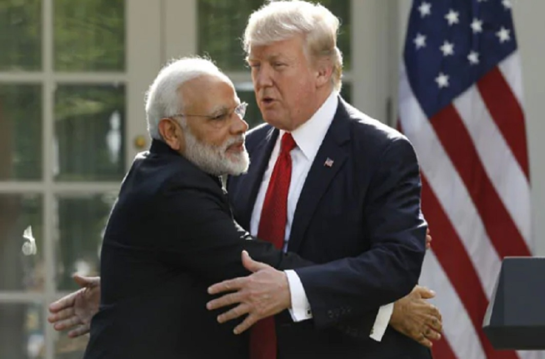 Trump sent salute to Modi and said to sushma- I Love India