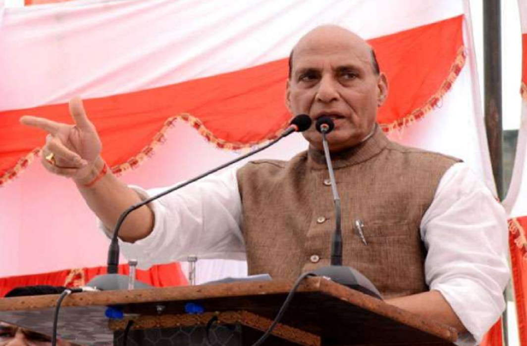 Rajnath Singh has given a big signal for big action and BSF jawan has taken revenge